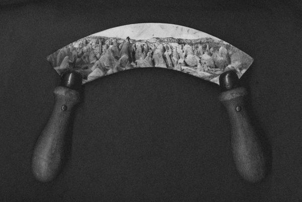 Couteau paysage Hachoir
