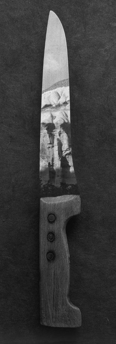 Couteau paysage Le Coutelas,