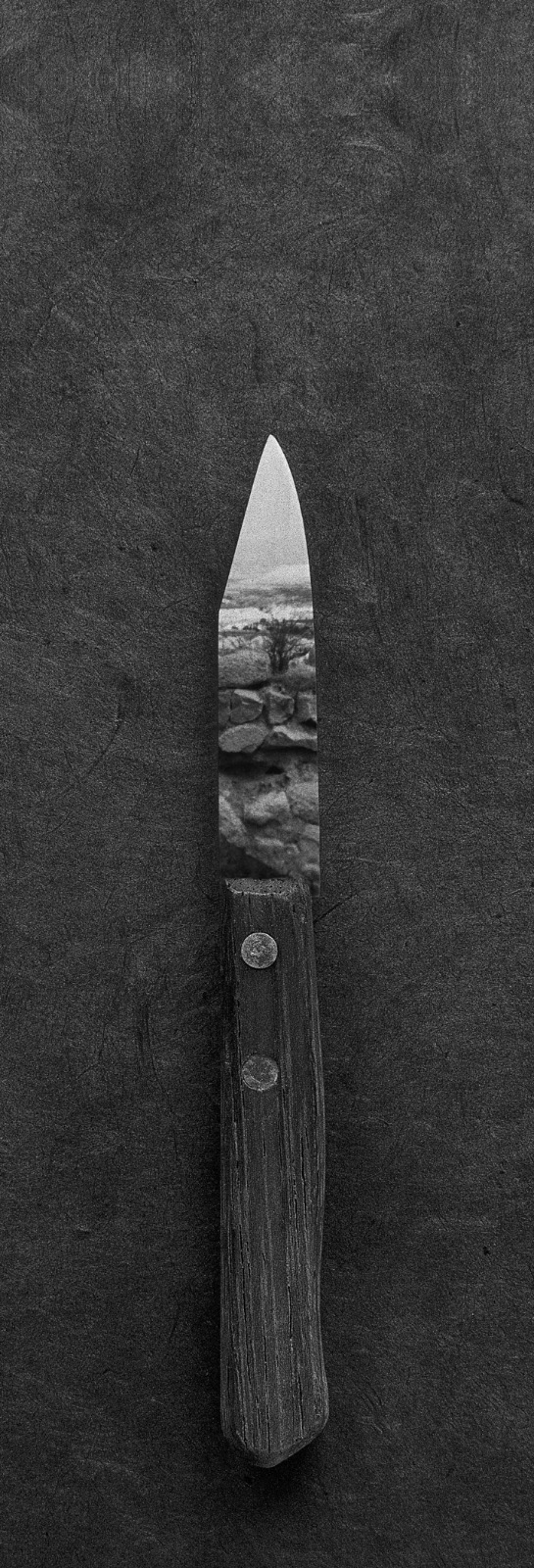 Couteau paysage Le couteau de cuisine